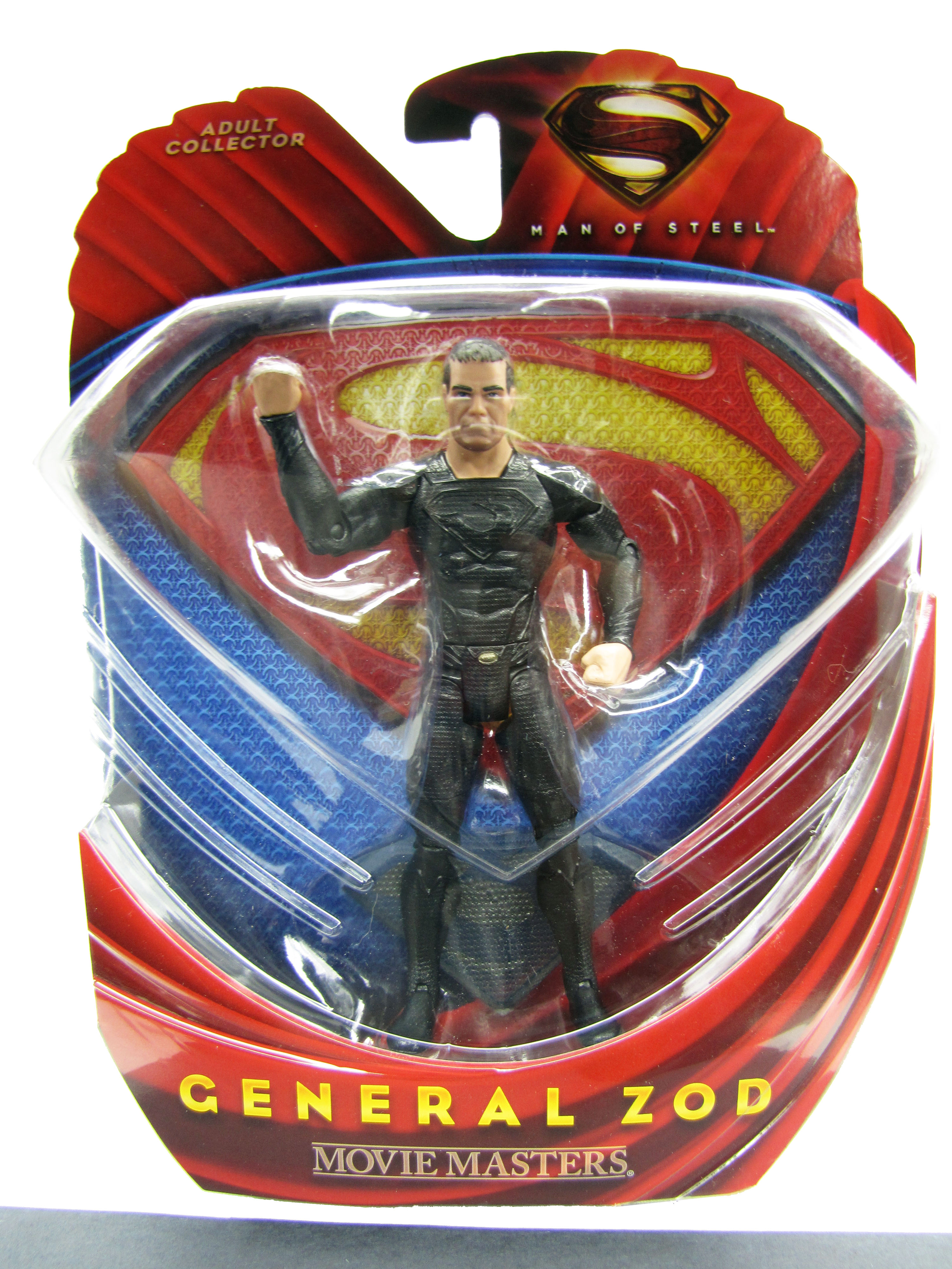 Superman Man of Steel Movie Masters General Zod Mint on Card